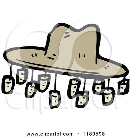 450x470 Cartoon Of A Hobo's Hat