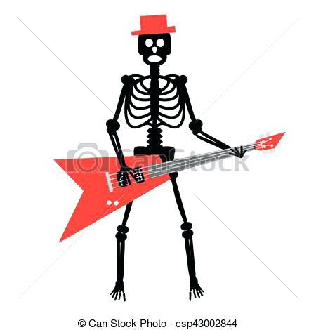 450x470 Punk Rock Clip Art Cartoon Crazy Punk Rock Metal Musicians