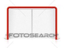 220x165 Hockey Goal Clipart Clip Art Of Ice Hockey Net K9512358 Search