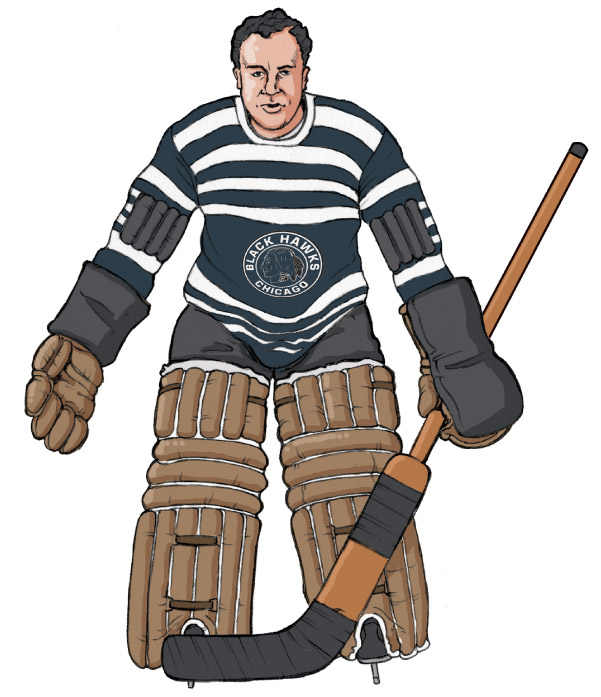 601x697 Hockey Goalies' Gear Through The Ages
