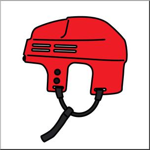 304x304 Clip Art Hockey Helmet Color I Abcteach