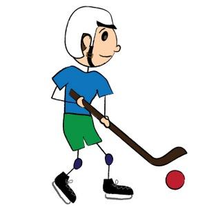 300x300 Hockey Clipart Image