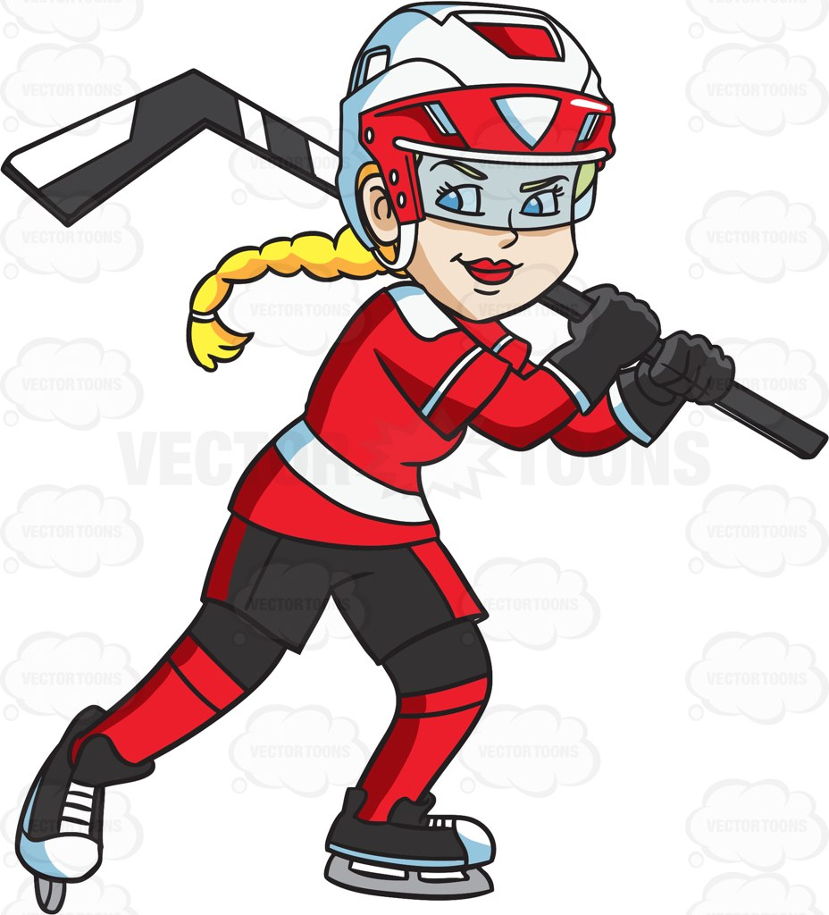 hockey helmet clipart at getdrawings com free for personal use rh getdrawings com hockey player clip art free girl hockey player clipart
