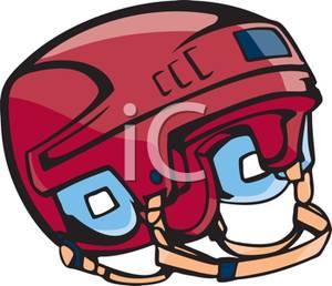 300x258 A Protective Hockey Helmet