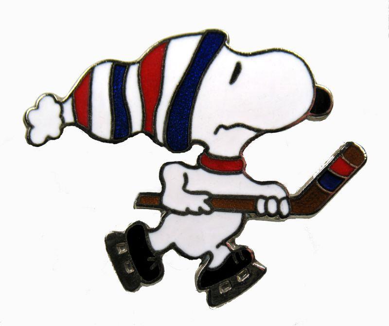 800x672 Snoopy Hockey Clipart