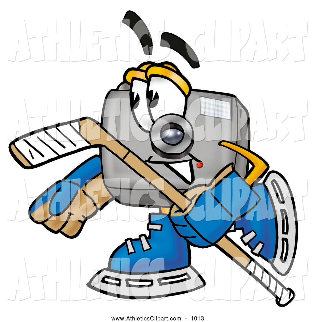 1024x1044 Clip Art Of A Friendly Camera Mascot Cartoon Character Playing Ice