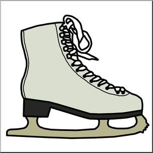 hockey skate clipart at getdrawings com free for personal use rh getdrawings com ice skating rink clipart ice skating clipart free