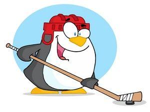 300x225 Free Hockey Stick Clip Art