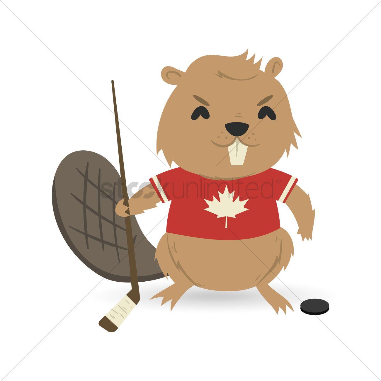 1300x1300 Beaver Clipart Hockey
