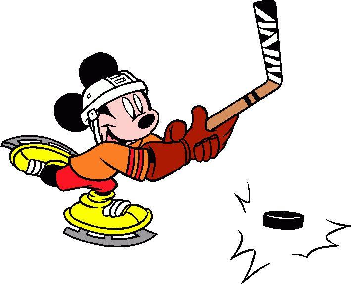 709x573 Clipart Hockey