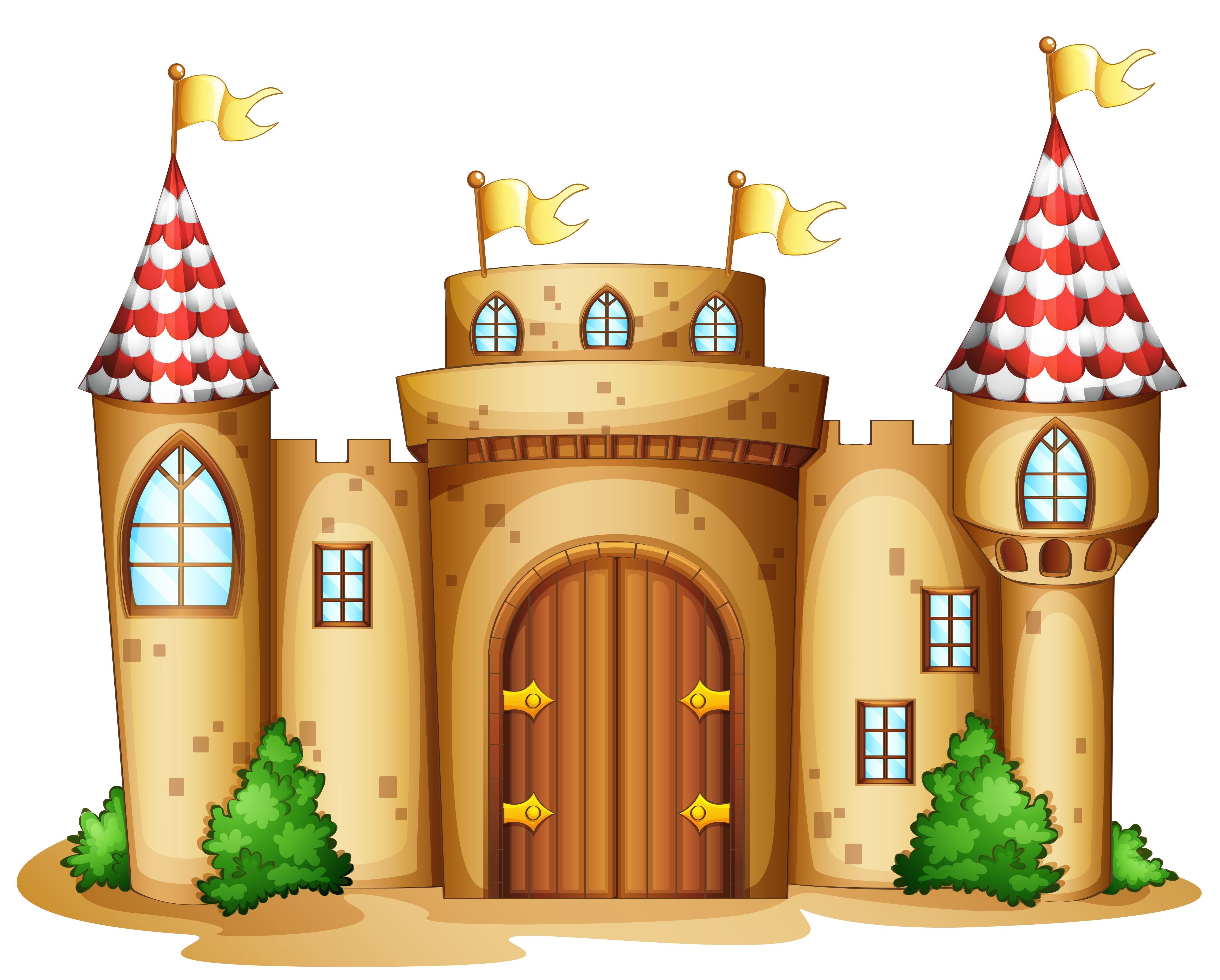 4472x3593 Collection Of Castle Clipart Wallpaper High Quality, Free