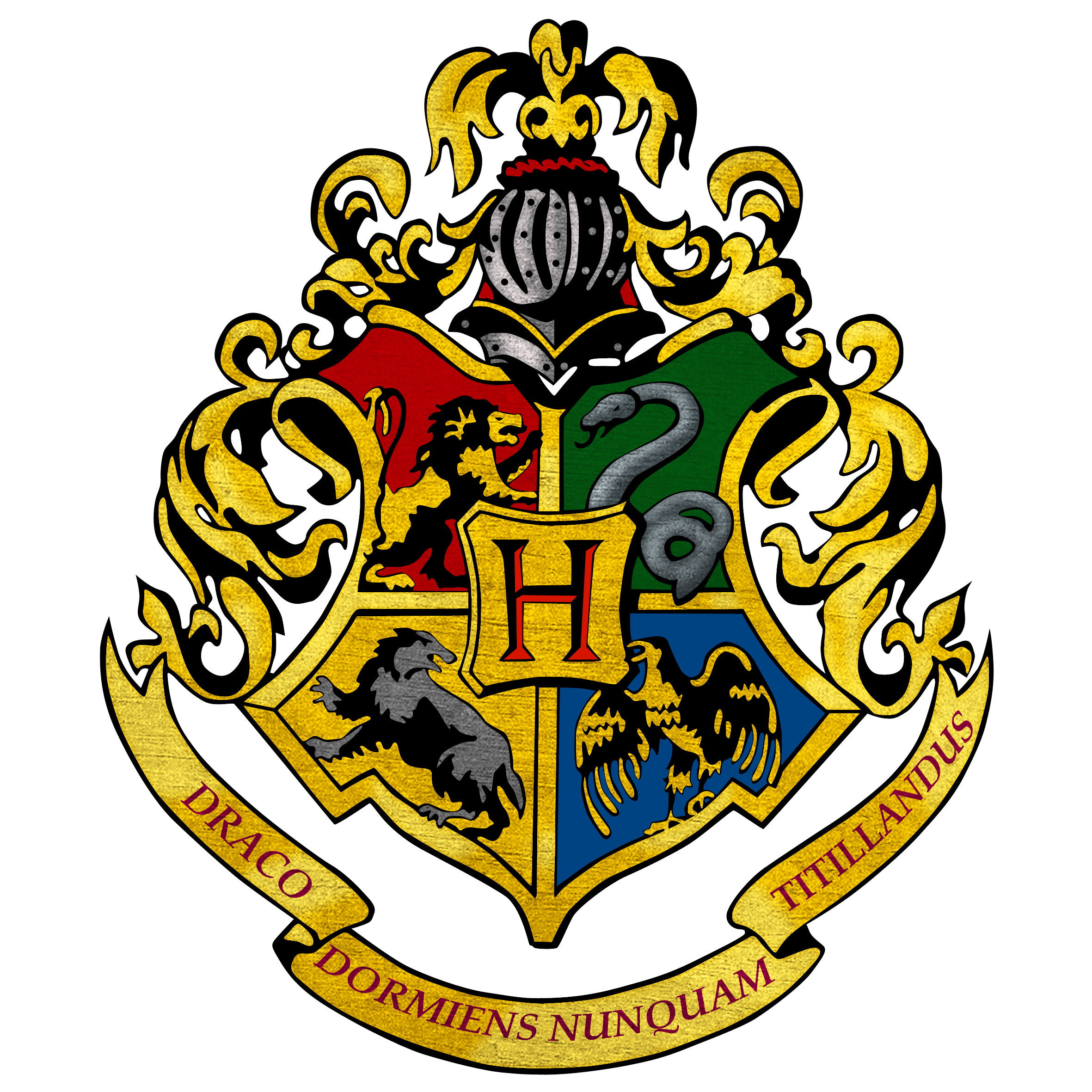 picture regarding Printable Hogwarts House Crests identified as Hogwarts Crest Clipart at  Absolutely free for