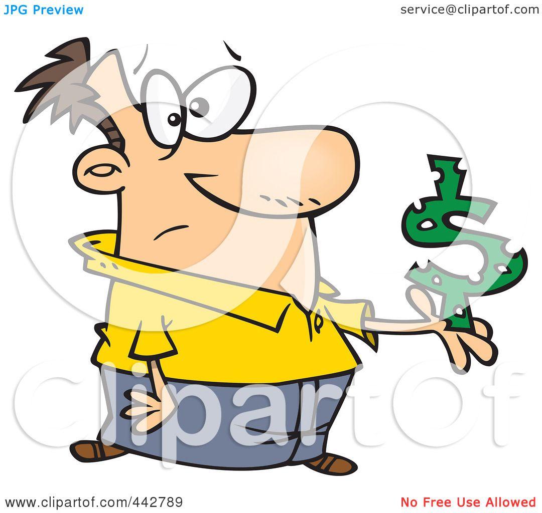 1080x1024 Royalty Free (Rf) Cliprt Illustration Of Cartoon Man Holding