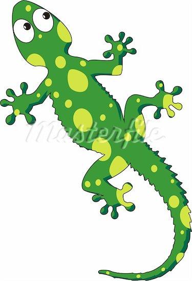 375x550 Cartoon Lizard Clipart