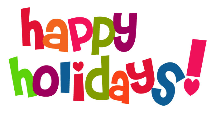 693x367 Holiday Pictures Clip Art Happy Holiday Colorful Text Picture