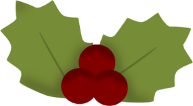 283x155 Holly And Ivy Clip Art