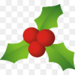 260x260 Common Holly Mistletoe Christmas Clip Art