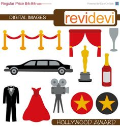 236x250 Resultado De Imagen De Hollywood Theme Clip Art Movie
