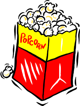 266x350 Movie Popcorn Clipart 101 Clip Art