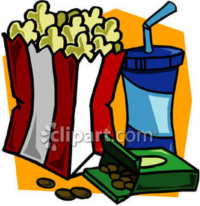291x300 Stylish Inspiration Movie Theatre Clipart Snacks 1 Images Clip Art