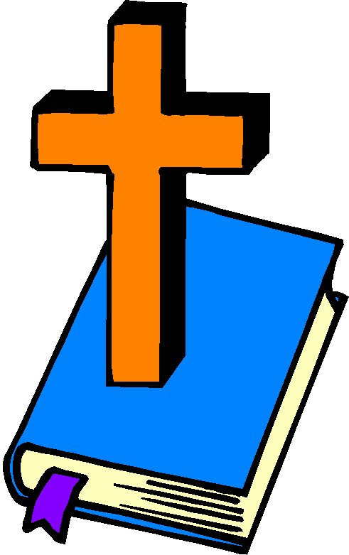 491x781 Holy Bible And Cross Clip Art