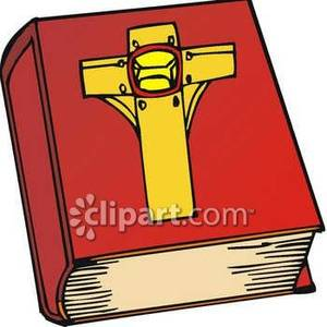 300x300 A Yellow Cross On The Cover Of A Red Bible