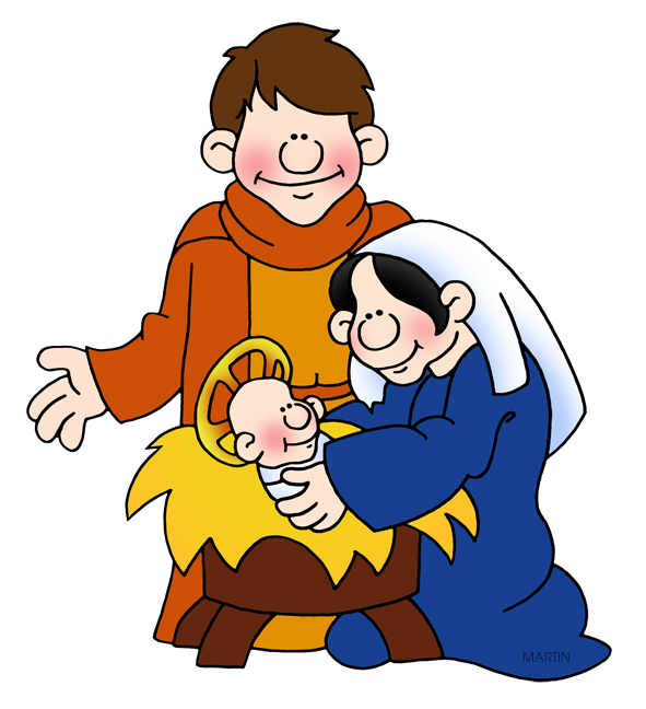 591x648 Bible Clip Art By Phillip Martin, Holy Family