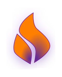 240x300 Flames Clipart Holy Ghost Fire
