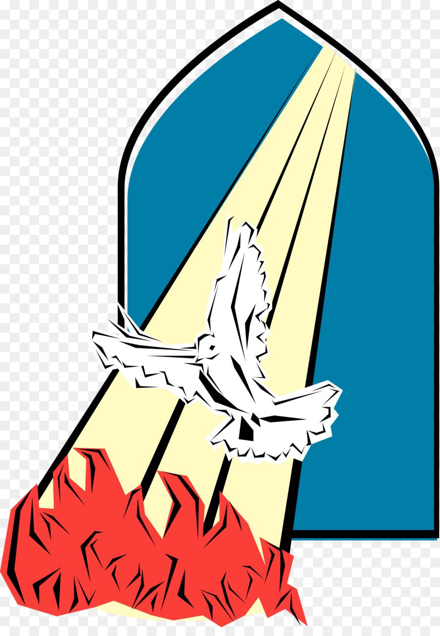 900x1300 Pentecost Holy Spirit Clip Art