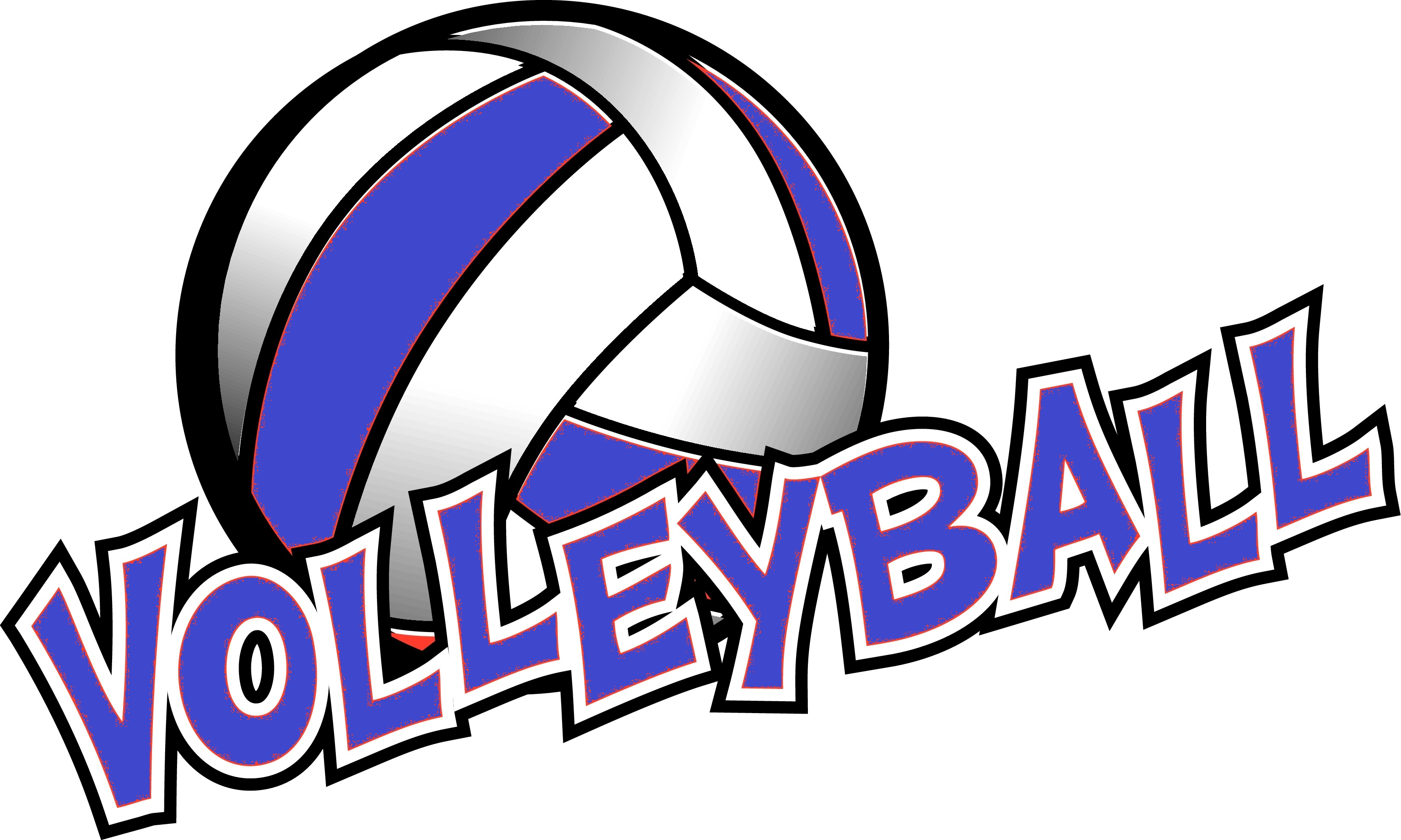 3300x1979 Volleyball Clipart Holy Cross