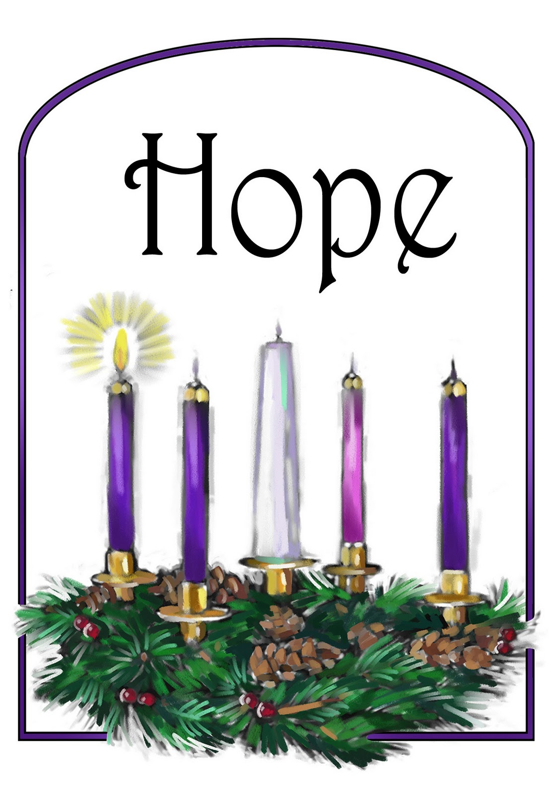 1108x1600 Splendid Design Ideas Advent Wreath Clipart Holy Spirit