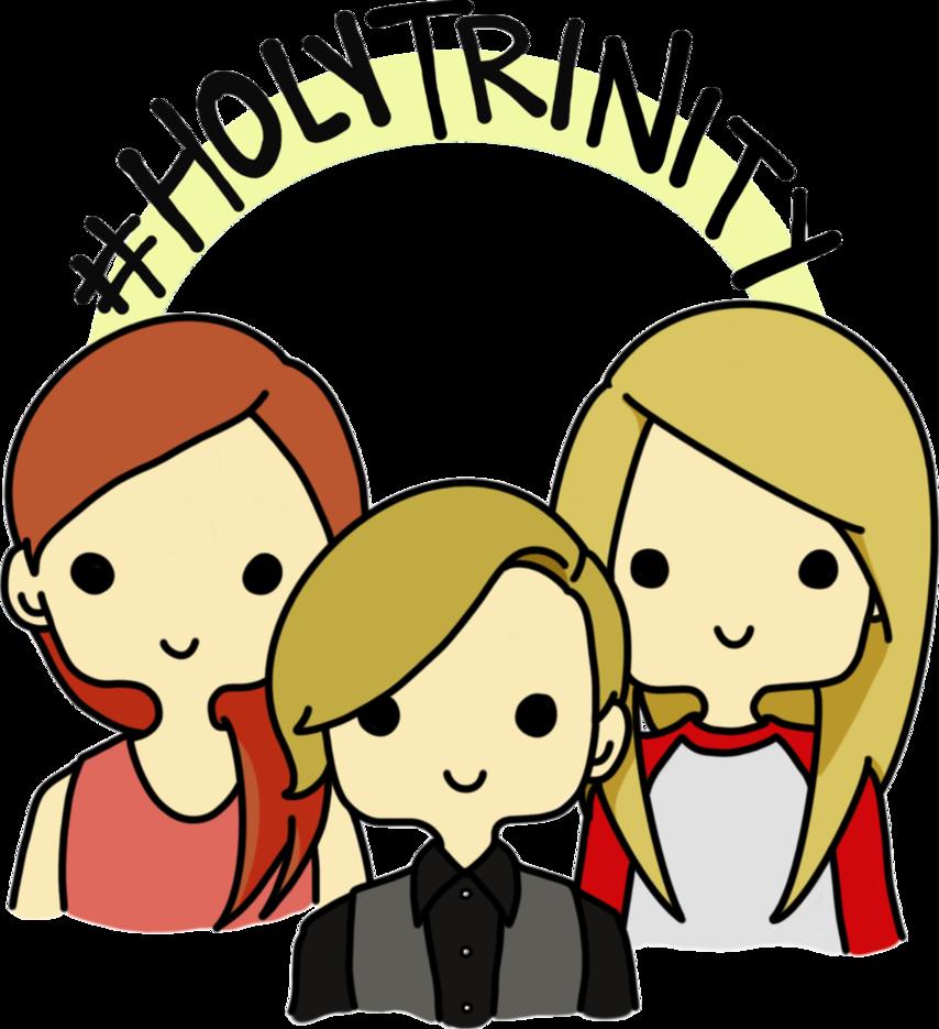854x935 Holy Trinity By Fuwafuwayui