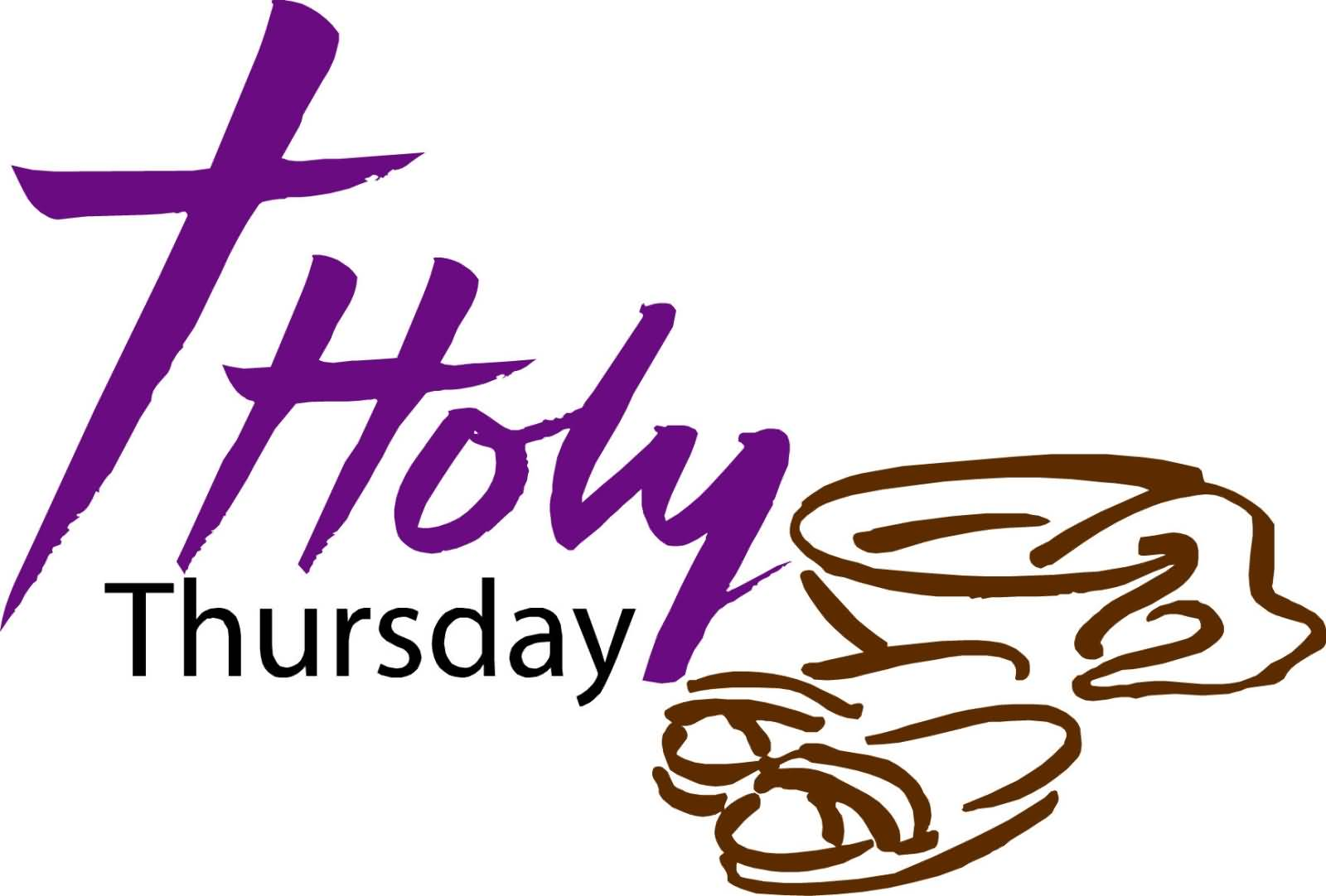 1600x1082 Holy Thursday Wishes Clipart