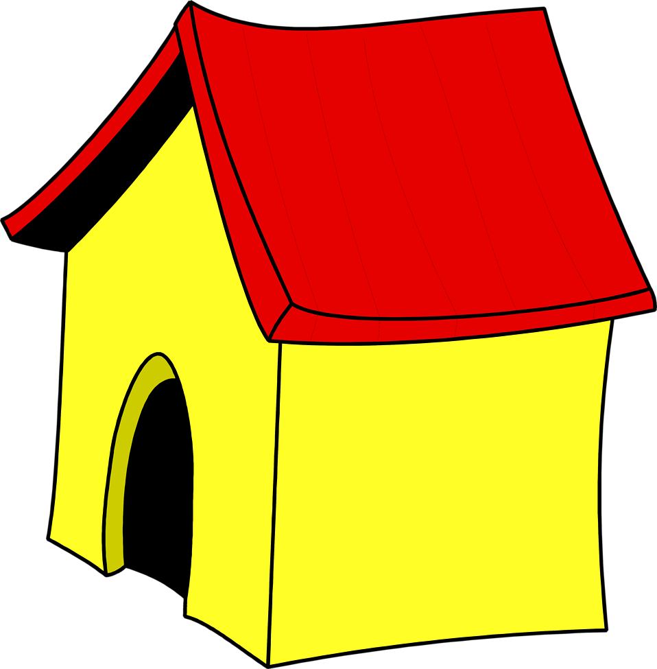 958x975 Image Of Dog House Clipart Cartoon Home Alone Clip Art