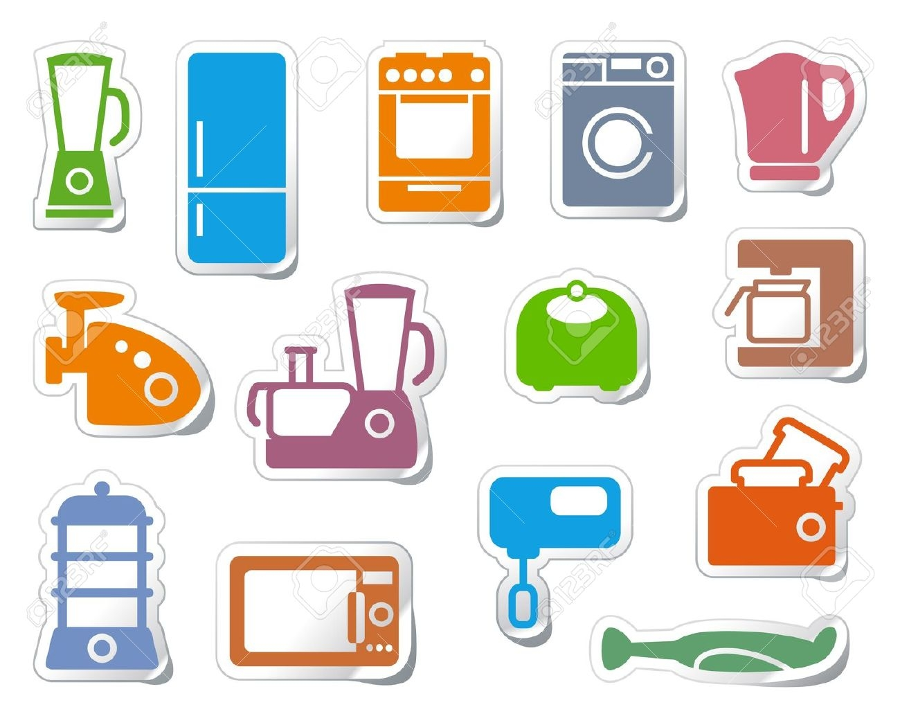 1300x1047 Home Appliances Pictures Clip Art