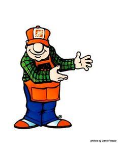 236x284 Home Depot Logo Clip Art