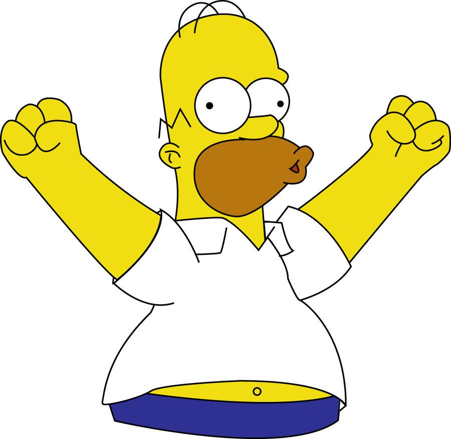 900x877 Homer Simpson By Marinav92