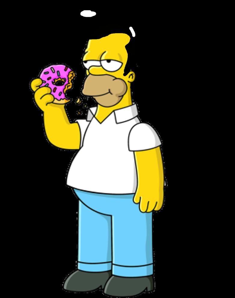 782x990 Homer Simpson With Elvis Presley's Hair By Darthraner83