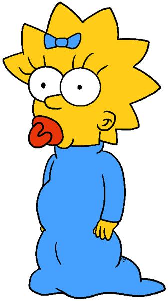 337x603 The Simpsons Clip Art Cartoon Clip Art