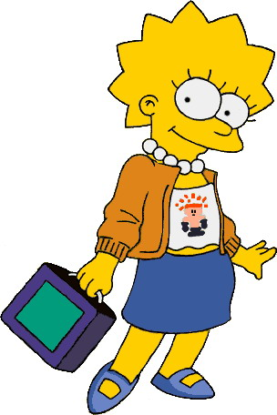 304x456 Clipart Simpsons