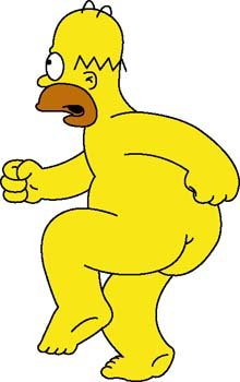 220x350 Free Homer Simpson 2 Clipart And Vector Graphics