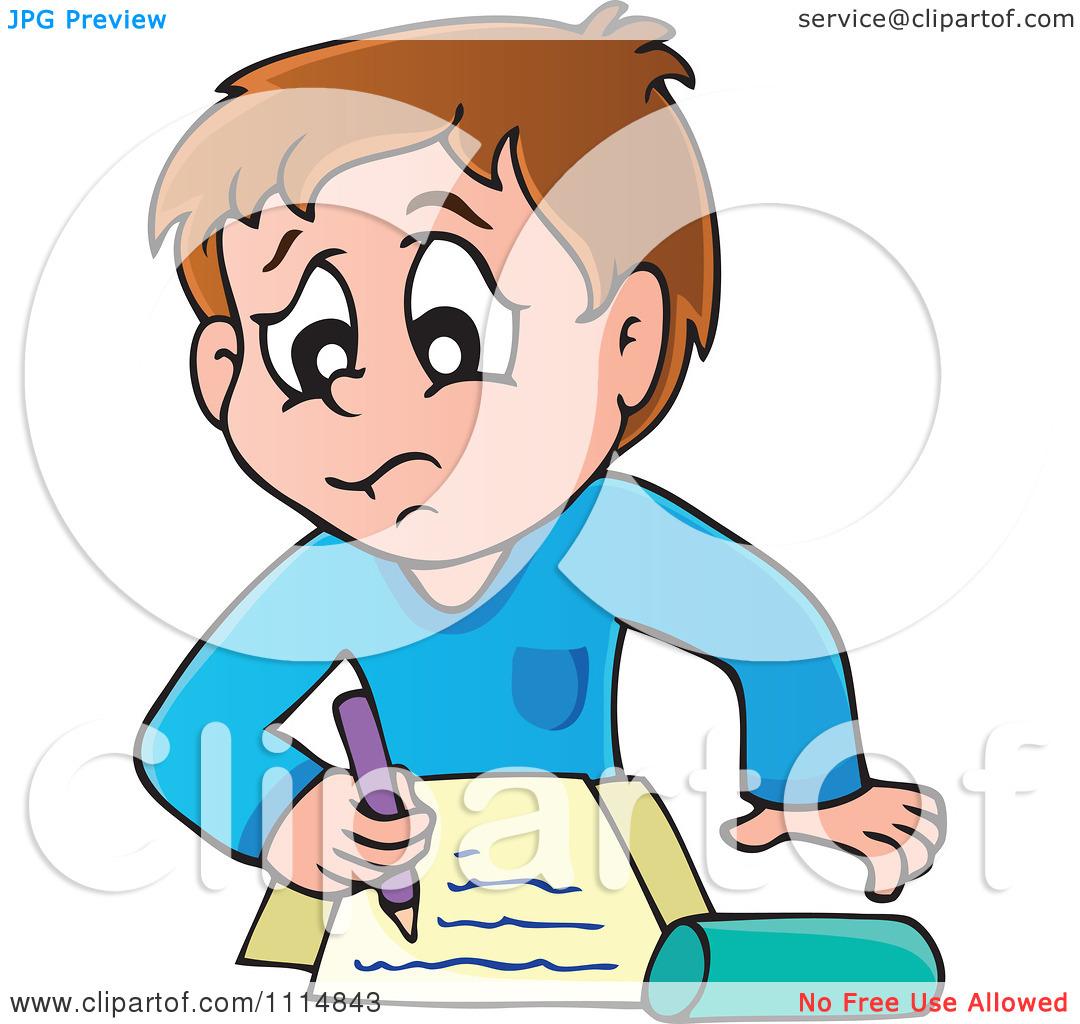 Homework Clipart