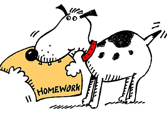 533x369 Missing Homework Clipart