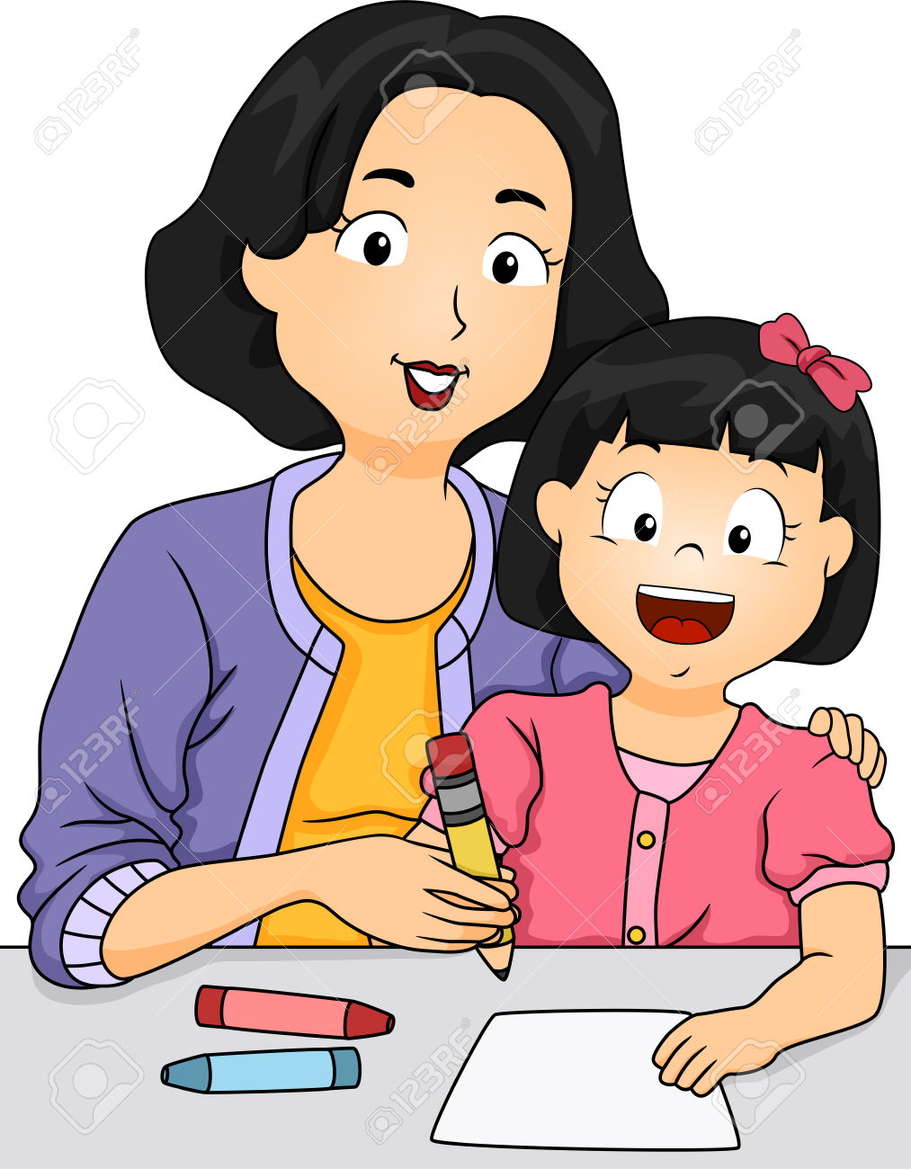 1013x1300 Mother Homework Clipart, Explore Pictures