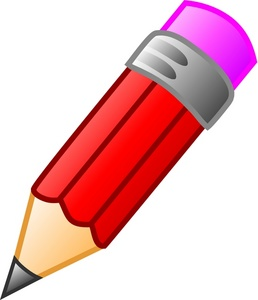 258x300 Red Pencil Clipart