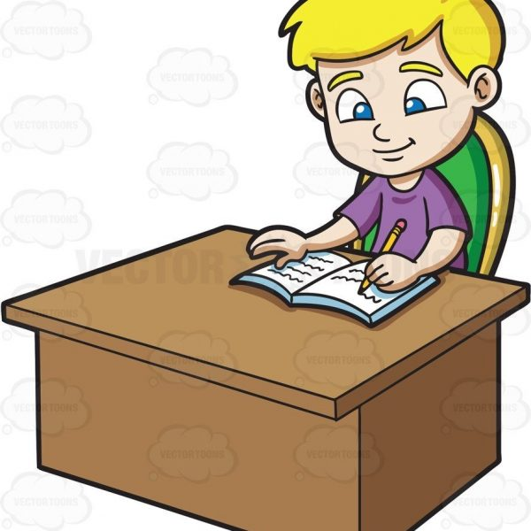 600x600 Doing Homework Clipart Writing Clip Art Stressed School Boy