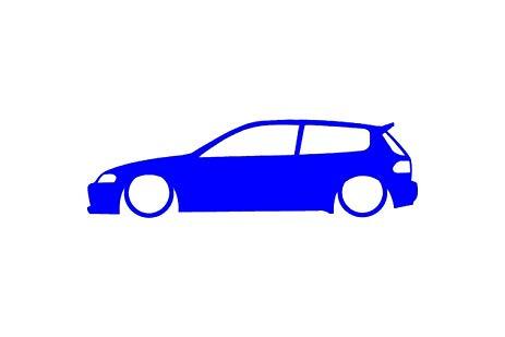 463x309 Custom Honda Civic Eg Vinyl Decal Sticker Automotive