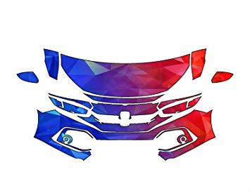 355x275 Honda Civic Hatchback 2017 3m Scotchgard Precut Paint