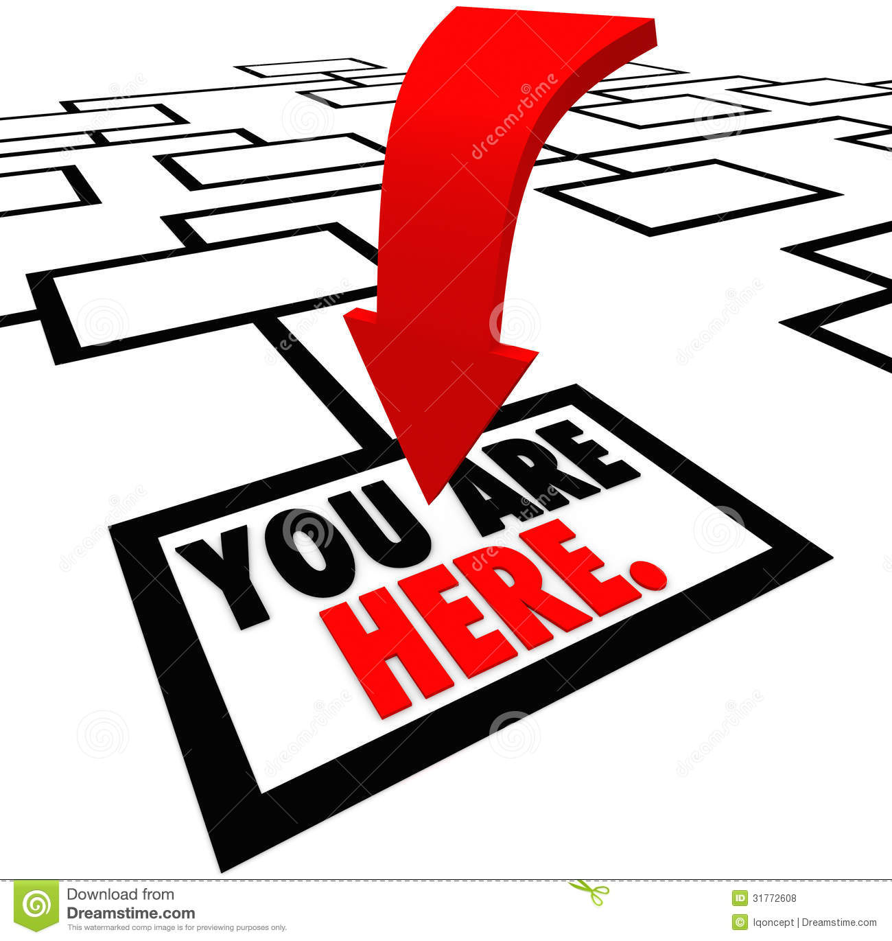 1300x1371 Here Clipart You Are Here