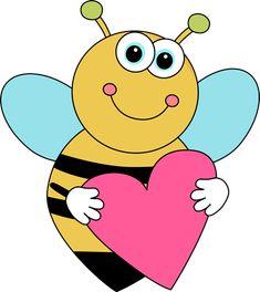 235x264 Honey Bee Clipart Image Cartoon Honey Bee Flying Around Honey